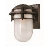 Elstead Reef HK/REEF/SM HE/VZ Small Garden Wall Light